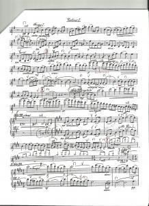Gaelic Symphony Original Part - Vln. I, p. 12