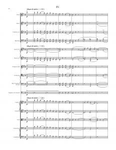 Symphony in E minor, Op. 32 (Gaelic) - Complete Score, 4th Mvt. (pp. 156-157)156