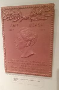 Amy Beach Dedication Plaque