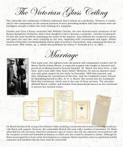 The Victorian Glass Ceiling; Marriage