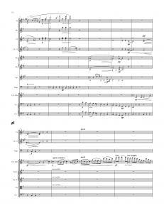 Symphony in E minor, Op. 32 (Gaelic) - Complete Score, 3nd Mvt. (pp. 123-124)124